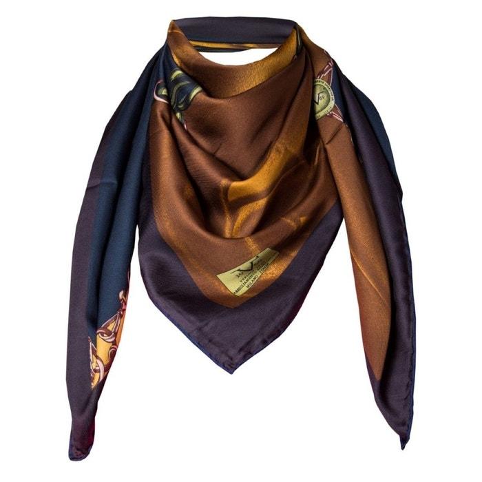 Foulard motif noir brun avec sa pochette cadeau multicolore Versace 19.69 | La Redoute 100% Authentique À Vendre 2018 Prix Pas Cher eW8o5GPD