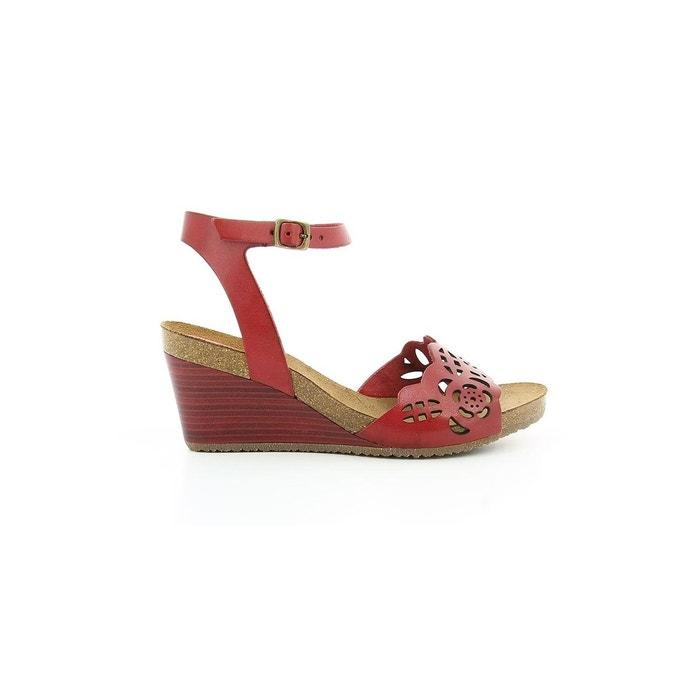 Femme KICKERS KICKERS Simply Cuir Sandale Sandale afTSxqR