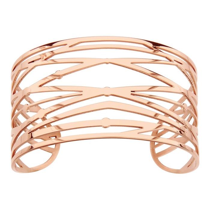 Bracelet manchette rose brindille acier inoxydable couleur unique So Chic Bijoux | La Redoute Acheter Pas Cher Livraison Gratuite FS8r5