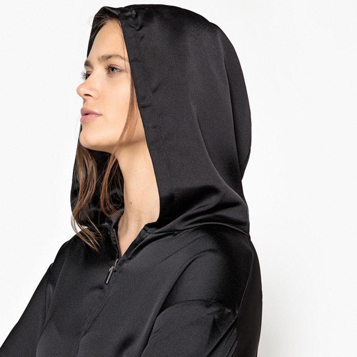 Collections Vestido de capucha La efecto Redoute con ablusado sudadera fF5xwvZq