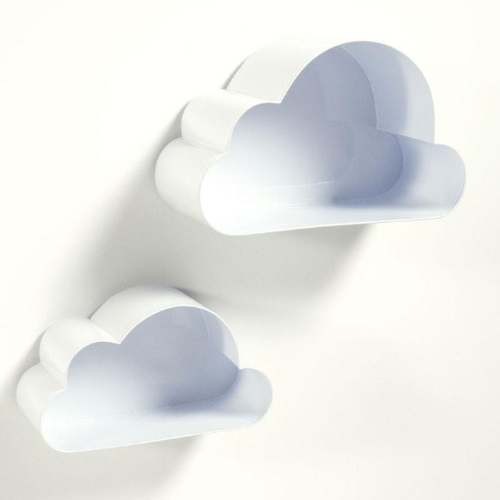 Étagères murales, nuage, Spacielle (lot de 2)  La Redoute Interieurs image 0