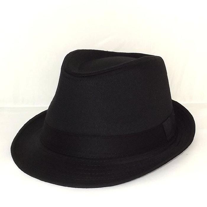 chapeau trilby noir noir chapeau tendance la redoute. Black Bedroom Furniture Sets. Home Design Ideas