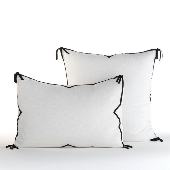 taie d oreiller ichika by v barkowski blanc am pm la. Black Bedroom Furniture Sets. Home Design Ideas