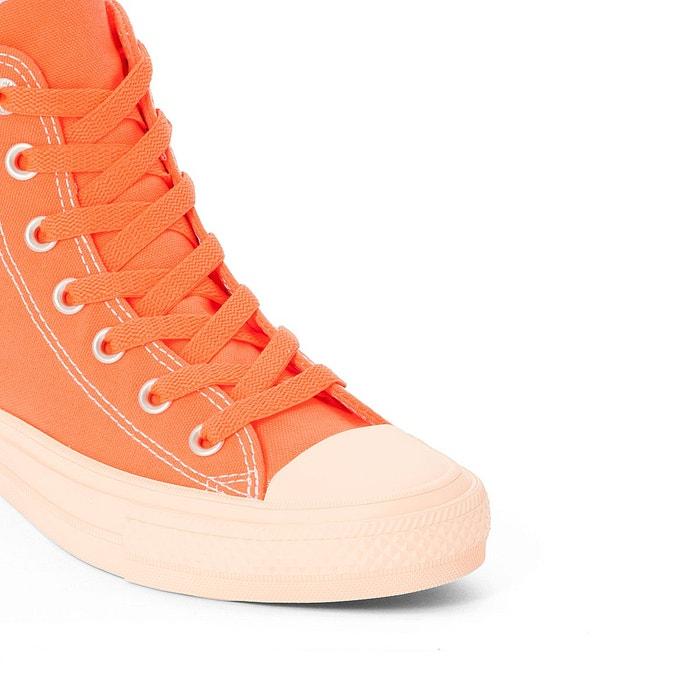 Baskets montantes ctas ii hi pastel midsoles orange Converse