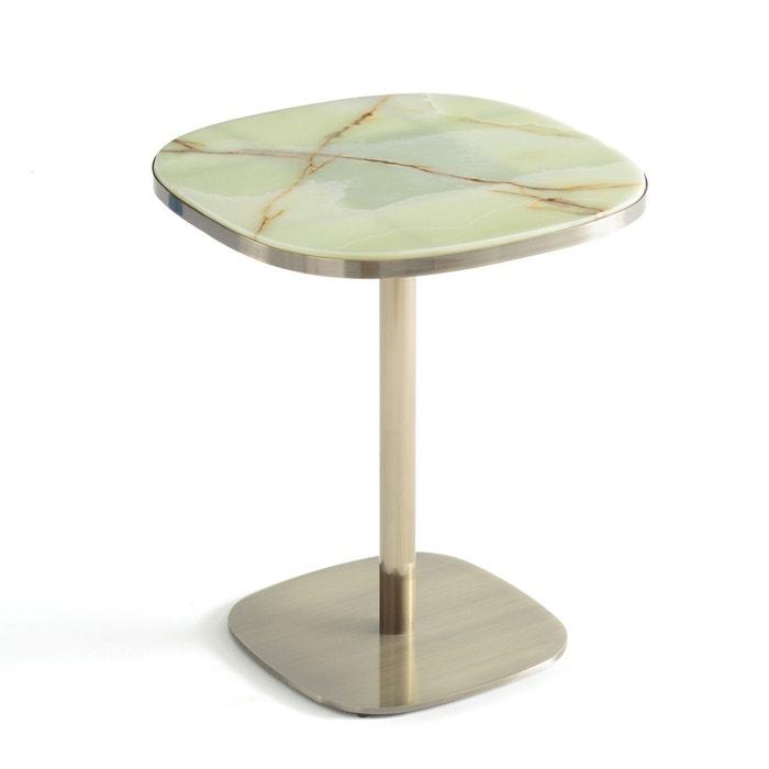 table de bistrot plateau jade lixfeld vert jade am pm la redoute. Black Bedroom Furniture Sets. Home Design Ideas