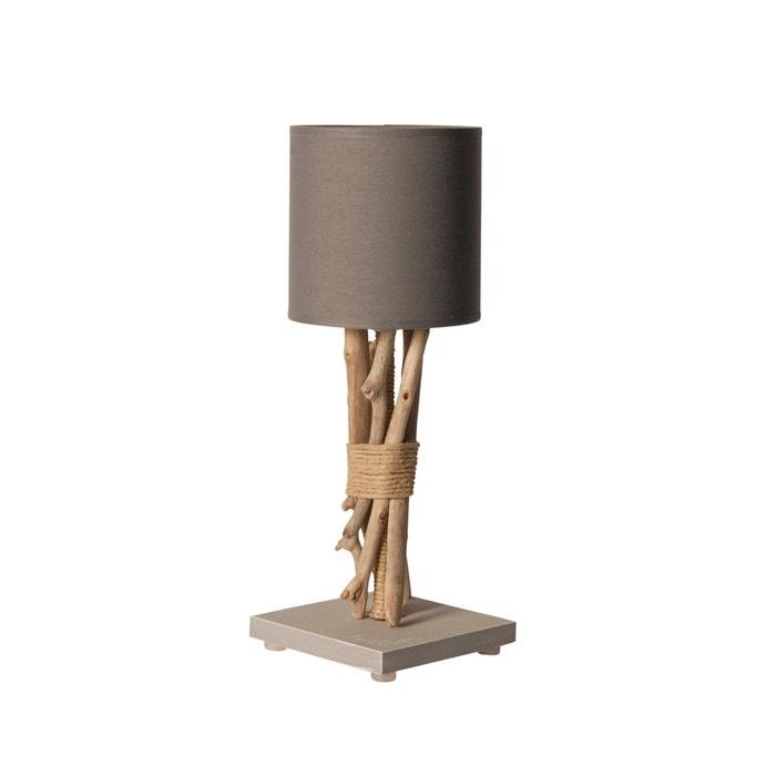 lampe de chevet fagot coc art la redoute. Black Bedroom Furniture Sets. Home Design Ideas