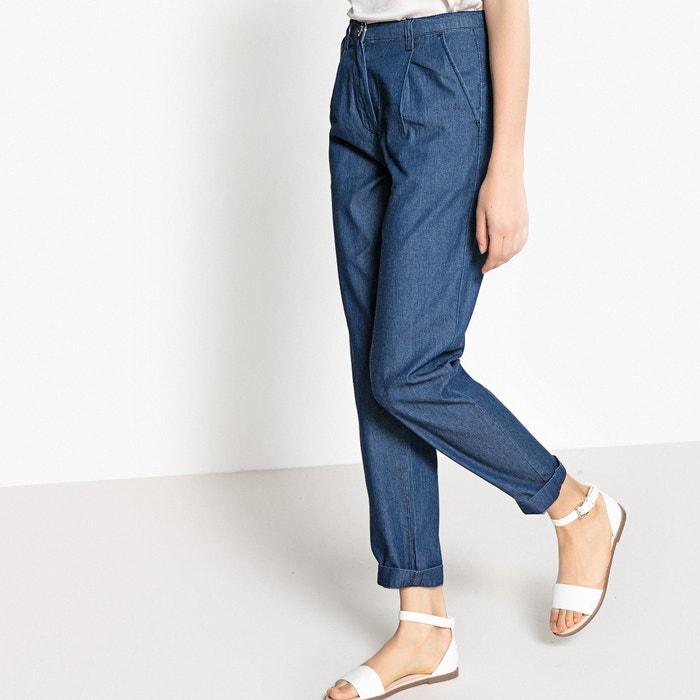 Jeans con pinces  La Redoute Collections image 0
