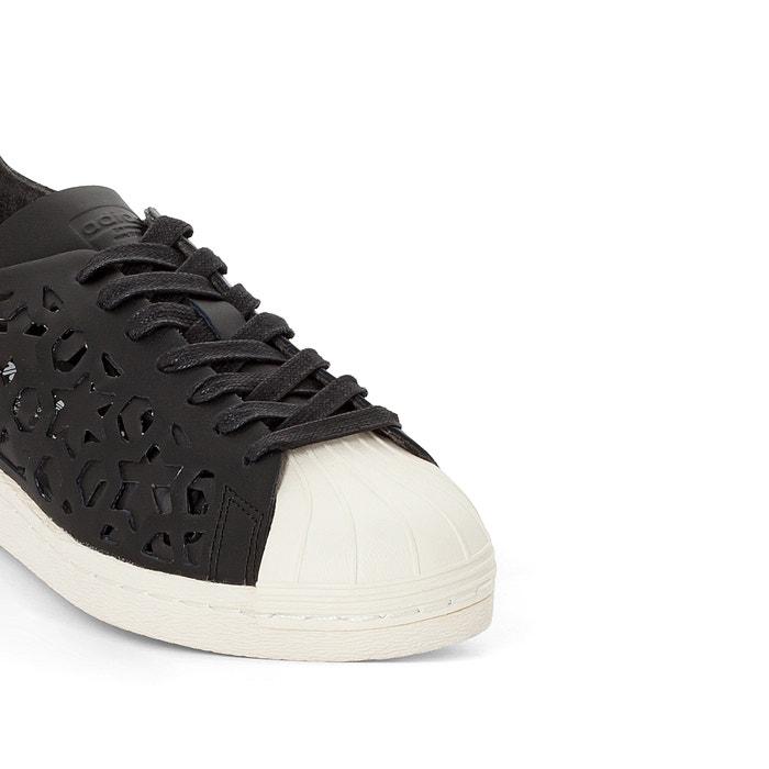 differently e1123 60e03 Zapatillas superstar 80s cut o negro adidas Originals