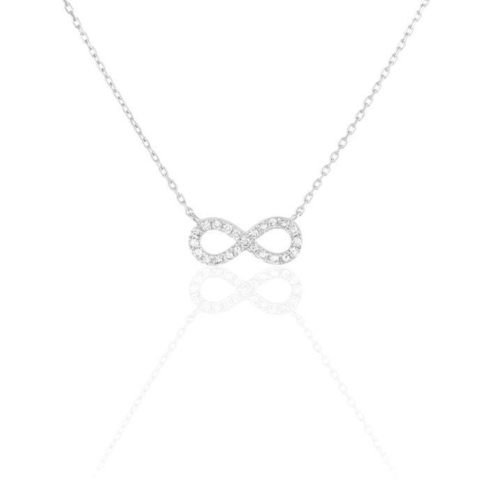 Collier or blanc et diamant blanc Histoire D'or | La Redoute Jeu Acheter Obtenir oi21nG3