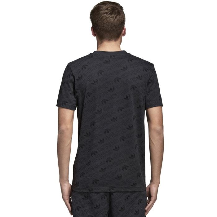 cuello originals redondo Camiseta estampada Adidas corta manga qOt1Sdvw
