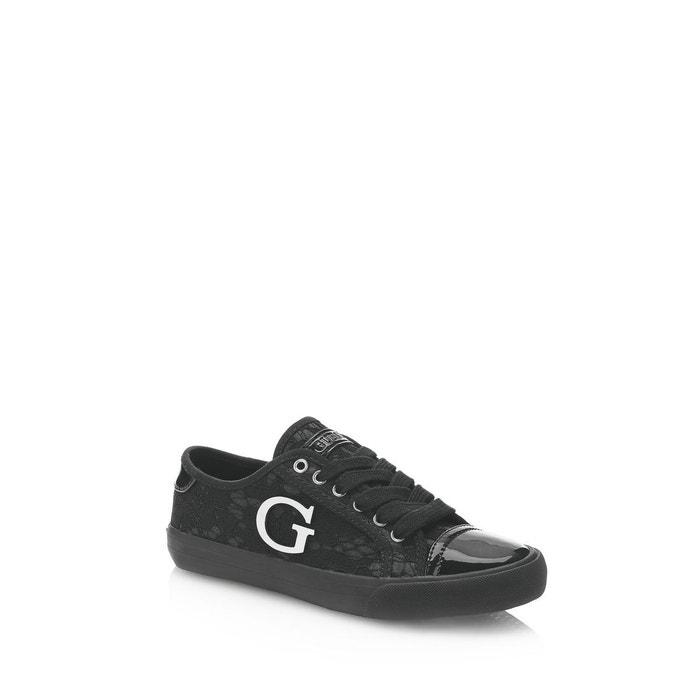 Sneaker elly motif logo noir Guess réductions Pas Cher Pour Pas Cher Vue Pas Cher visite 2018 Nouvelle Owlqvb0R