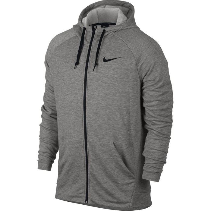 b8df5de31a8cd Veste dry hoodie fleece gris Nike | La Redoute