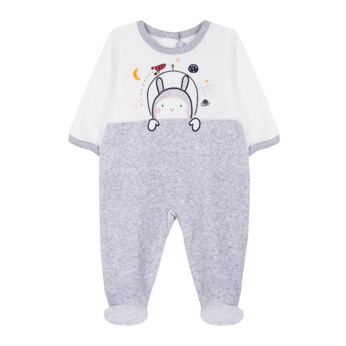 Pijama de terciopelo 3 meses - 2 años  ABSORBA image 0