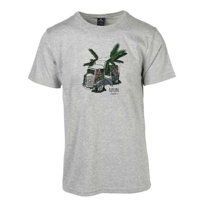 RIP Camiseta con CURL y cuello corta manga redondo 4pPBSq