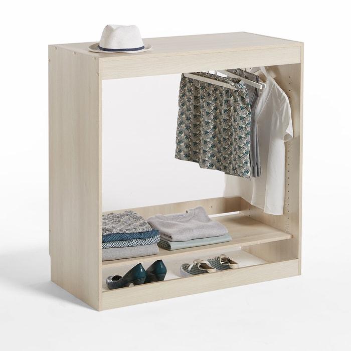 Build 1-Shelf Wardrobe Storage Unit with Hanging Rail  La Redoute Interieurs image 0