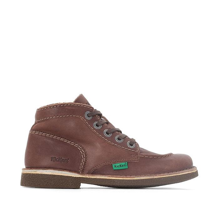 69c24e3548a599 Boots en cuir à lacets legendiknew Kickers | La Redoute