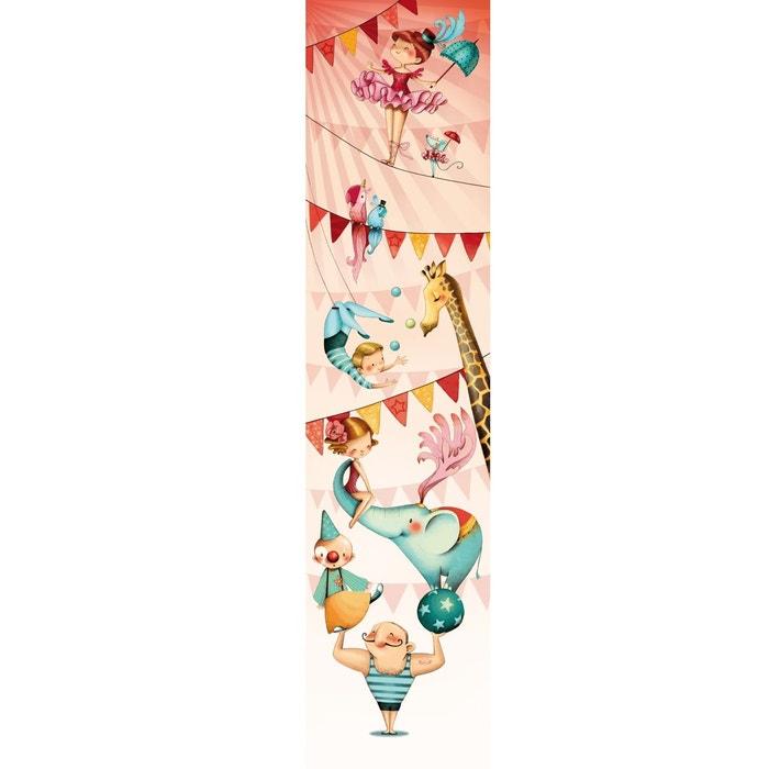papier peint enfant au cirque multicolore acte deco la redoute. Black Bedroom Furniture Sets. Home Design Ideas