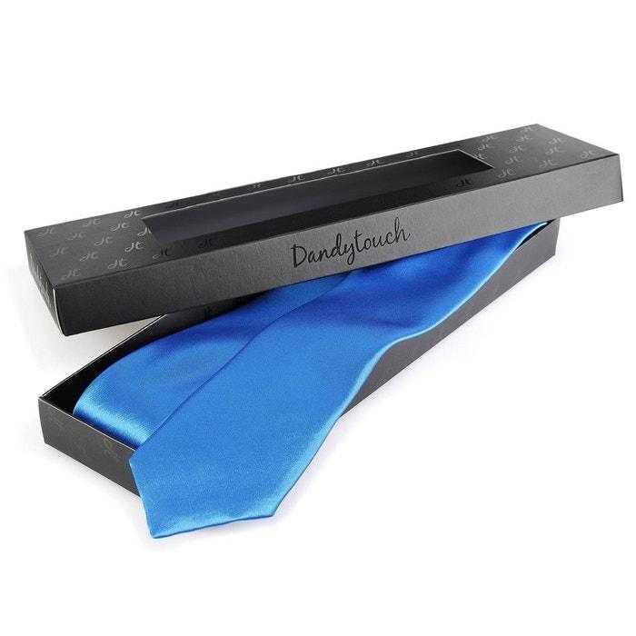 cravate slim bleu roi dandytouch bleu dandytouch la redoute. Black Bedroom Furniture Sets. Home Design Ideas