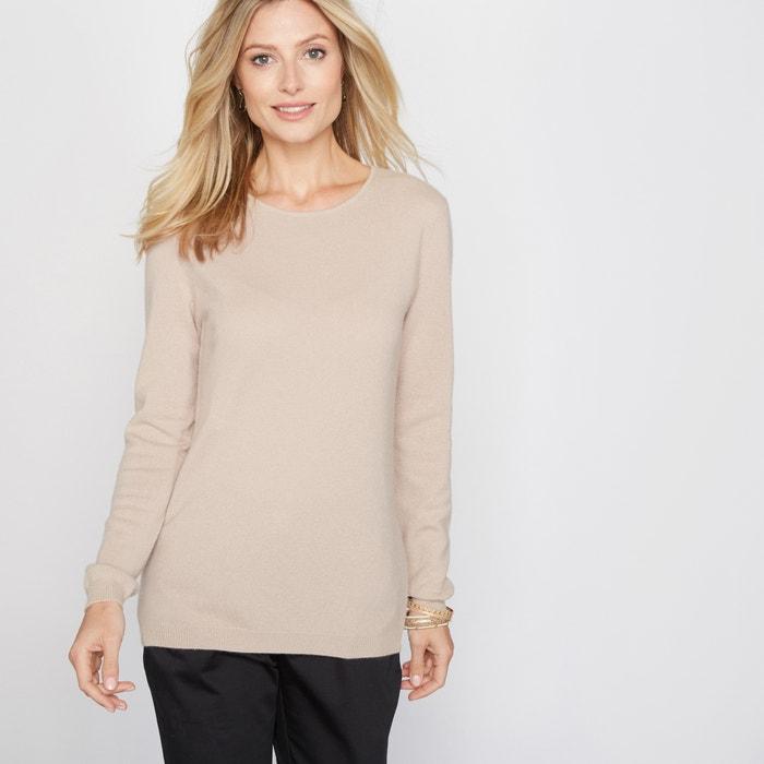 Pure Cashmere Round Neck Sweater  ANNE WEYBURN image 0
