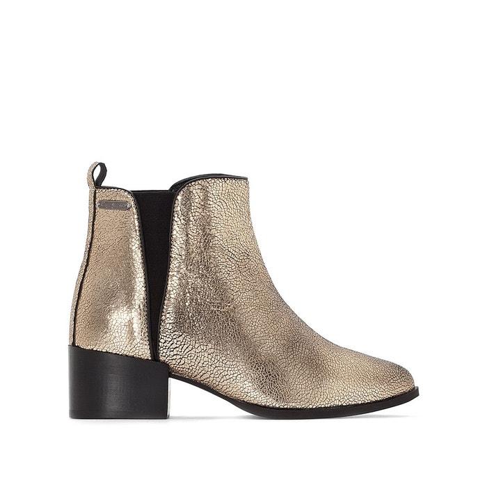 Boots waterloo night bronze Pepe Jeans