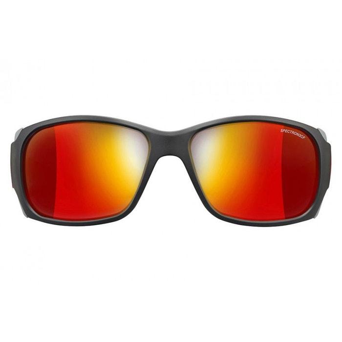 Monterosa verres Spectron 3CF - Lunettes de soleil Noir Mat / Rouge Unique aU5ri