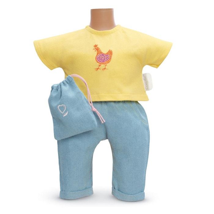 Ensemble bébé 30 cm : Ensemble pantalon côté soleil COROLLE