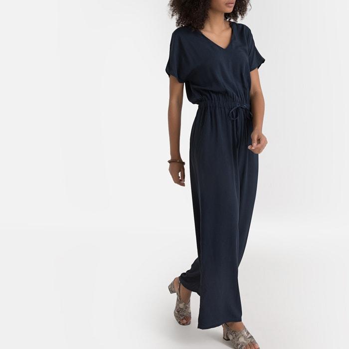3199a35579d Комбинезон с брюками с короткими рукавами темно-синий La Redoute ...