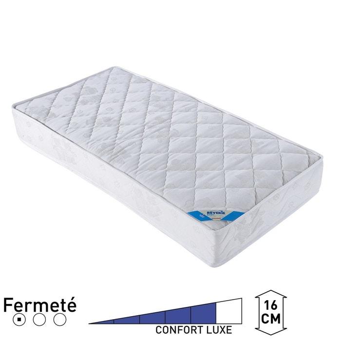 matelas ressorts lit b b blanc reverie la redoute. Black Bedroom Furniture Sets. Home Design Ideas