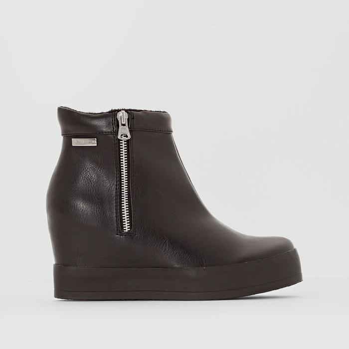 boots talon compens chaoly noir les tropeziennes par m belarbi en solde la redoute. Black Bedroom Furniture Sets. Home Design Ideas