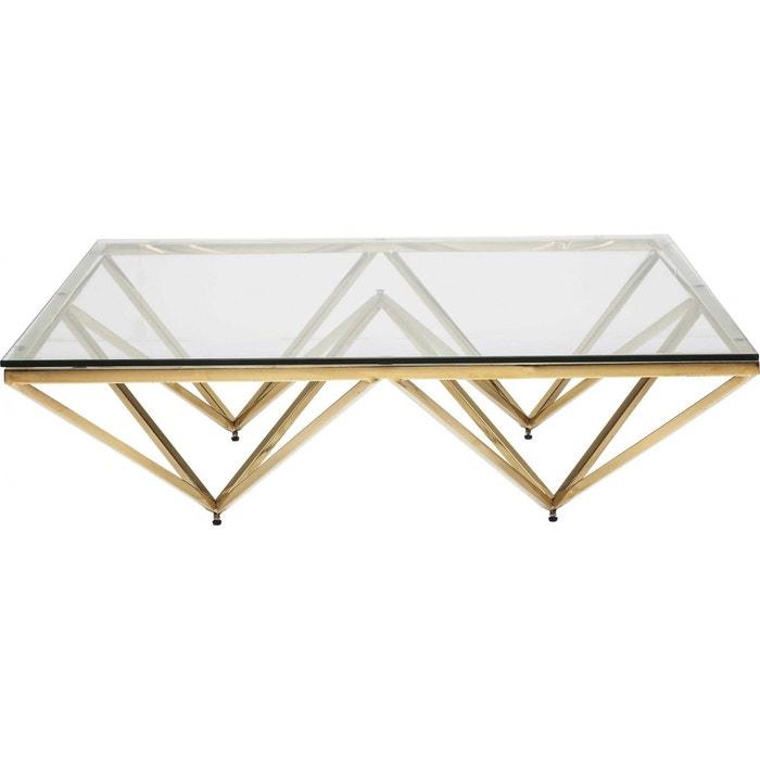 table basse network dor e 105x105cm kare design pers kare design la redoute. Black Bedroom Furniture Sets. Home Design Ideas