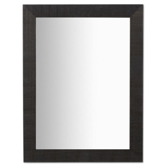 Miroir seven noir 62x82 cm negro neutro kavehome la for Espejo kavehome