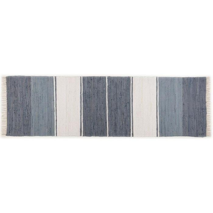 tapis happy design stripes anthracite theko la redoute. Black Bedroom Furniture Sets. Home Design Ideas