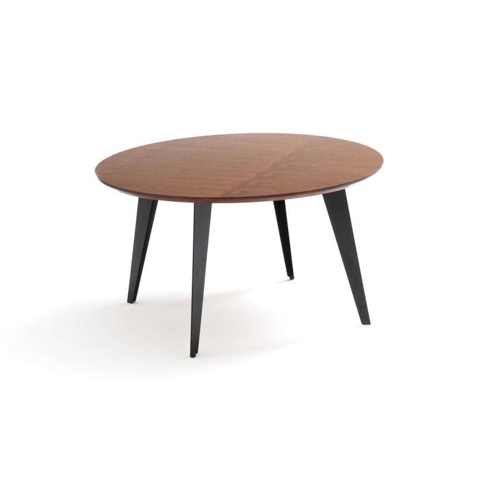 Table Basse Ronde Vintage Watford Noyer La Redoute Interieurs