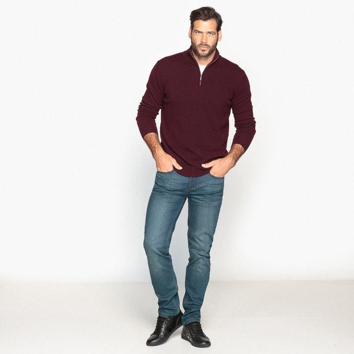 50 con con MEN CASTALUNA Jersey FOR cuello cremallera lana alto wPTg8