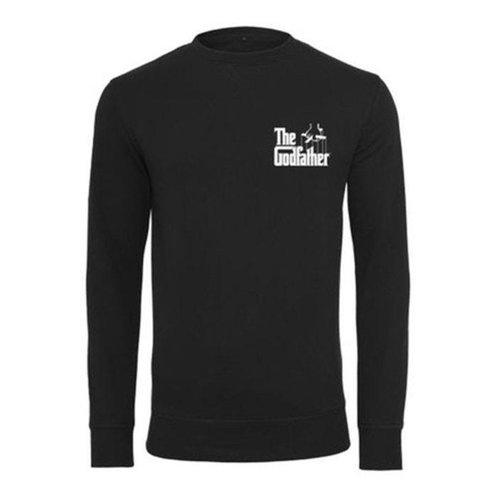 Refuse Le Parrain Noir T Longues Mister Shirt Tee Manches UzpSqMGV