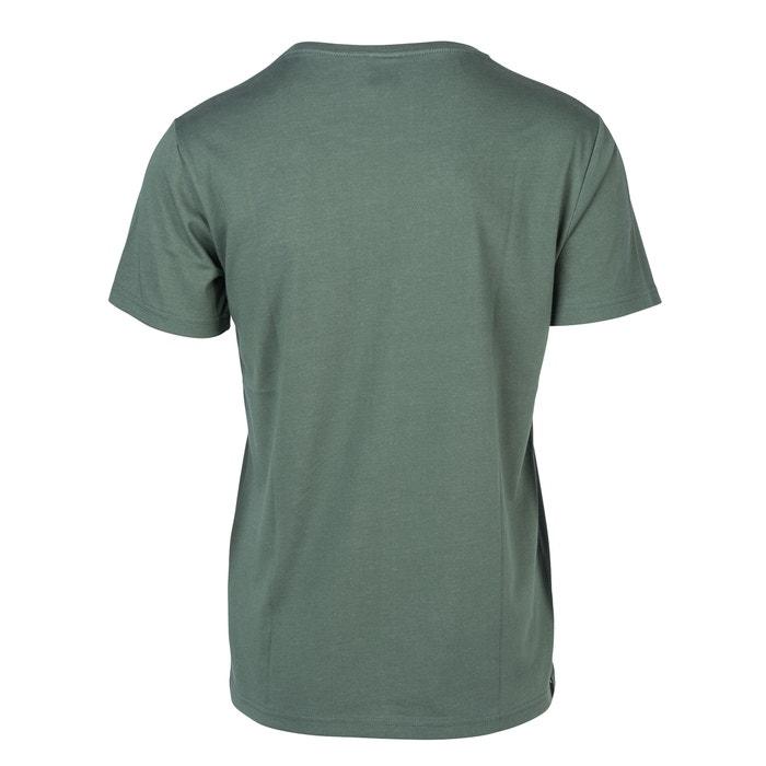 manga corta RIP cuello CURL y redondo Camiseta con racSSRq7Pw