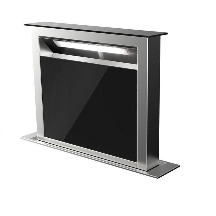 hotte encastrable plan de travail ahv659bk noir airlux. Black Bedroom Furniture Sets. Home Design Ideas