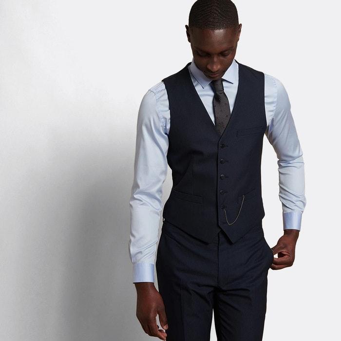 classcic grand choix de 2019 le magasin Gilet de costume bleu marine Homme