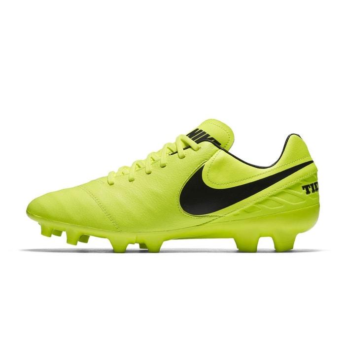 chaussure de foot nike jaune
