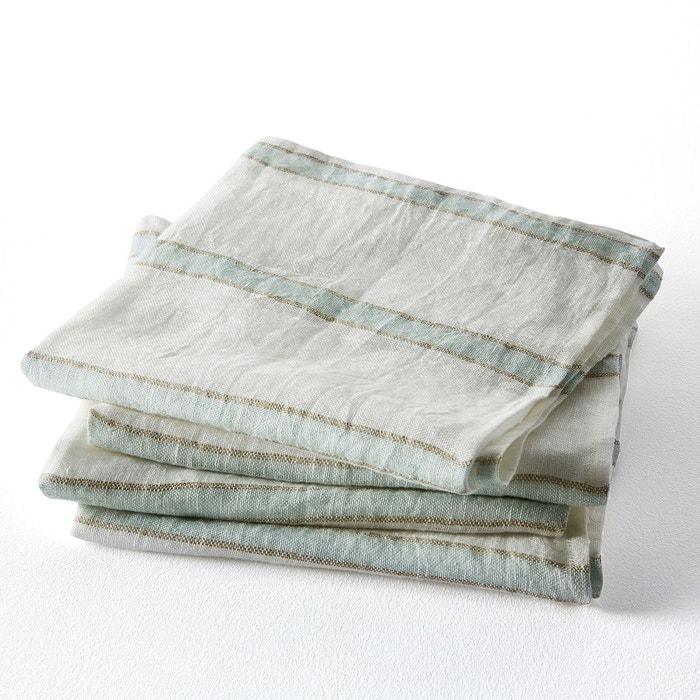 Lot de 4 serviettes en lin, Mangilano  AM.PM image 0