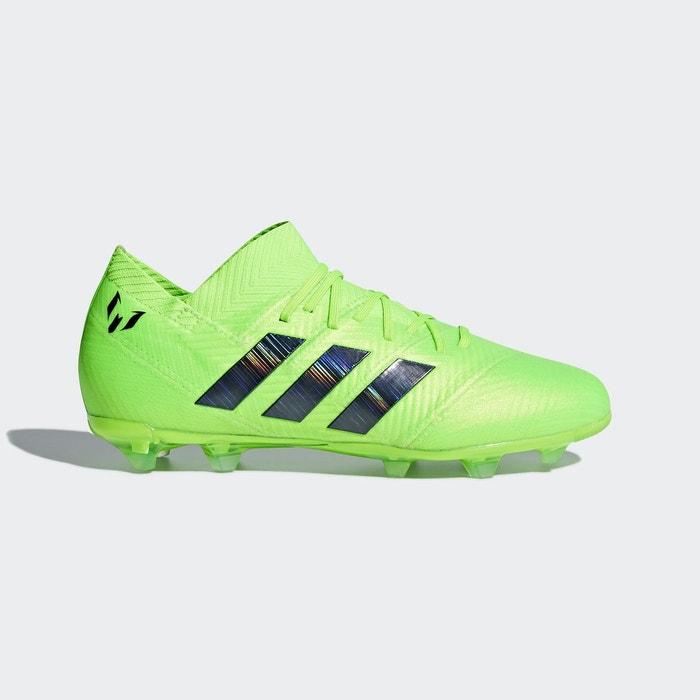 Vert Performance 1 Souple Messi Nemeziz 18 Terrain Adidas Chaussure qwYaFUx