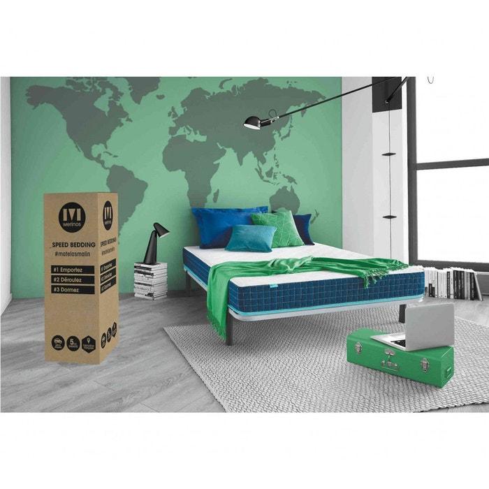 Matelas Cool Bed Couchage Latex Blanc Merinos La Redoute