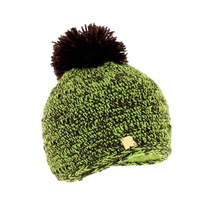 Bonnet chiné vert multicolore Toutacoo   La Redoute Images De Dégagement Énorme Surprise Pas Cher En Ligne Footlocker À Vendre a0dt9pJiI