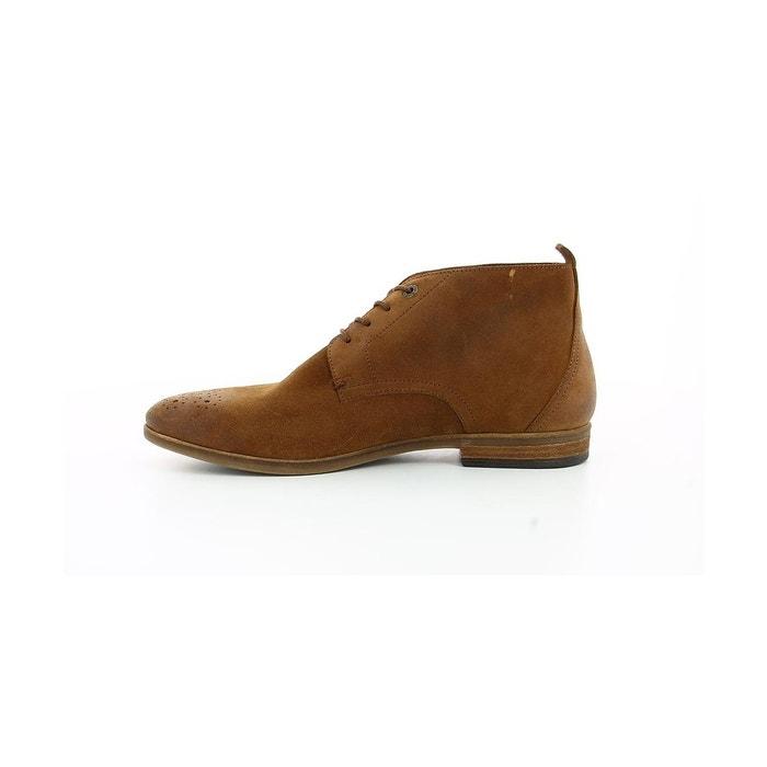 Boots et bottines croûte velours homme tarot camel Kickers