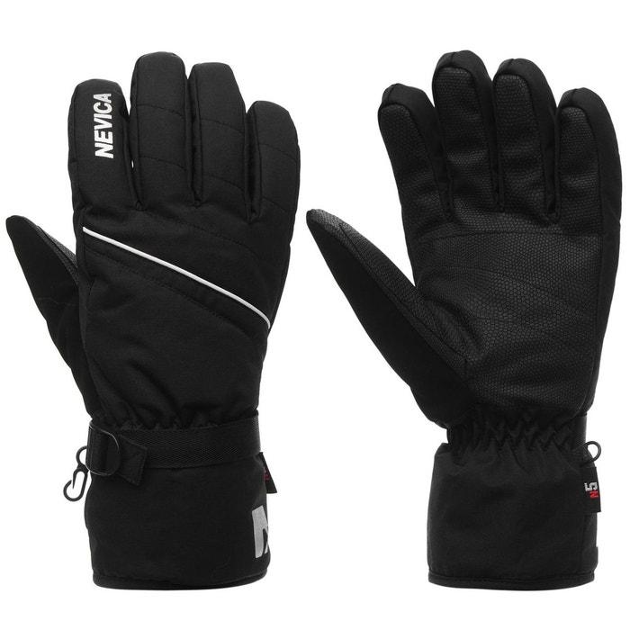 9aa213f505b Gants de ski imperméables et chauds noir Nevica
