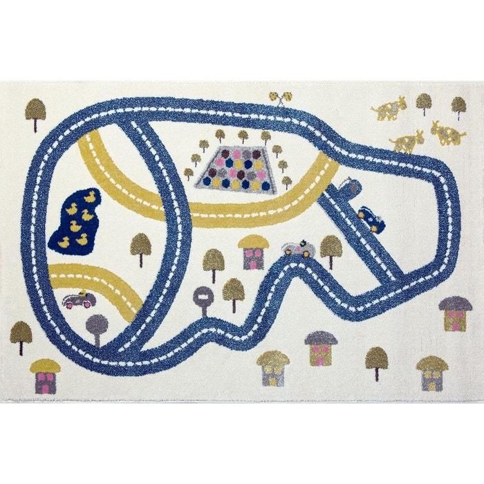 tapis enfant circuit bleu art for kids la redoute. Black Bedroom Furniture Sets. Home Design Ideas