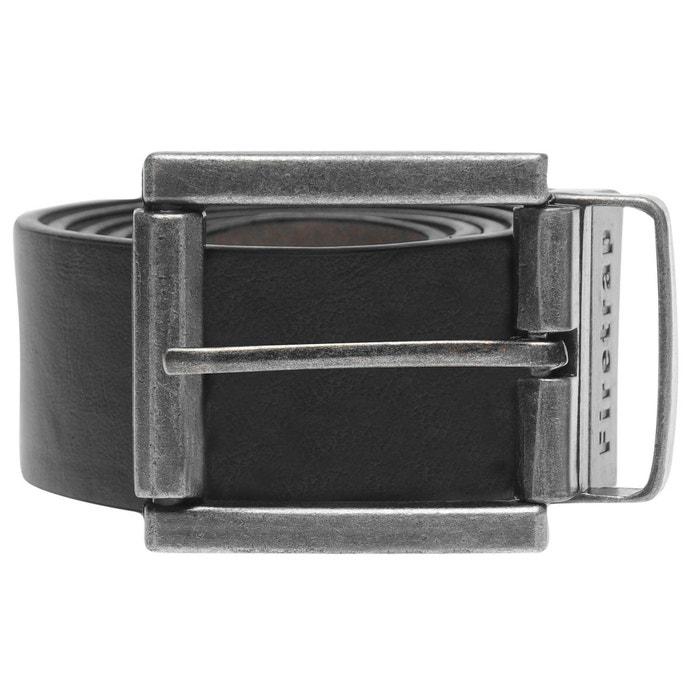 Reverse ceinture noir, gris Firetrap   La Redoute be345a2cc7f