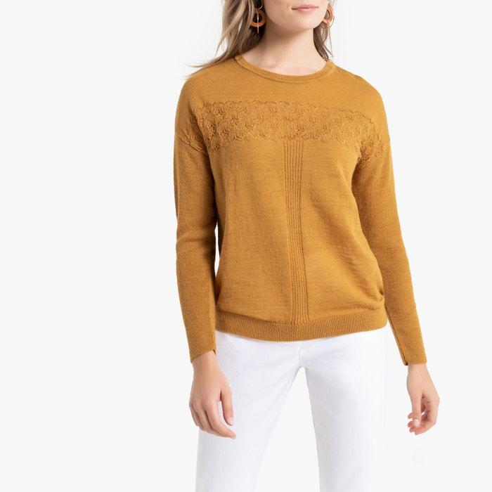 Trui in fijn tricot met ronde hals  ANNE WEYBURN image 0