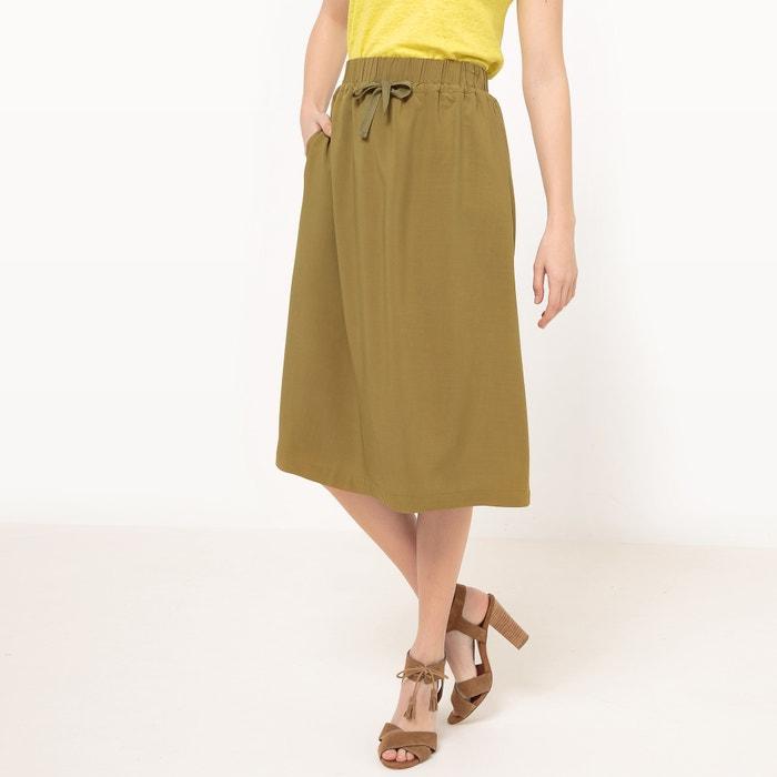 Image Midi Skirt with Elasticated Waist R essentiel