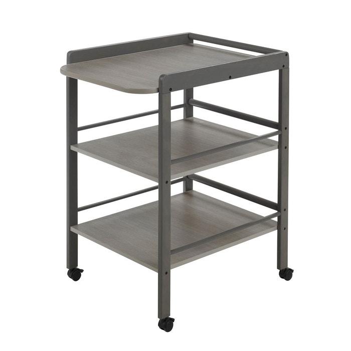 table langer clarissa 4842 sl gris geuther la redoute. Black Bedroom Furniture Sets. Home Design Ideas